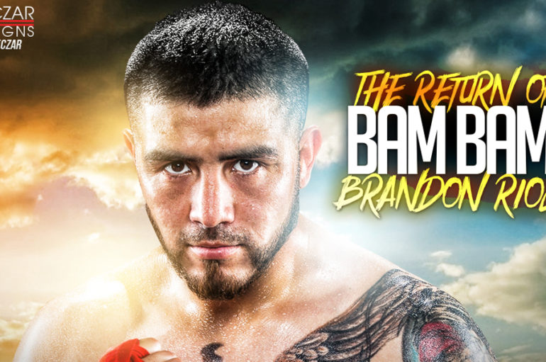 BAM BAM BRANDON RIOS TO HOST LOS ANGELES MEDIA WORKOUT FOR HIS RETURN TO THE RING!