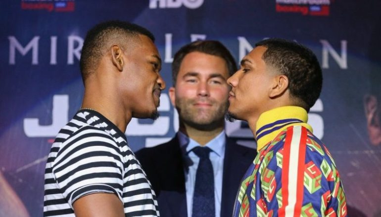 VIDEO: Daniel Jacobs vs Luis Arias New York press conference