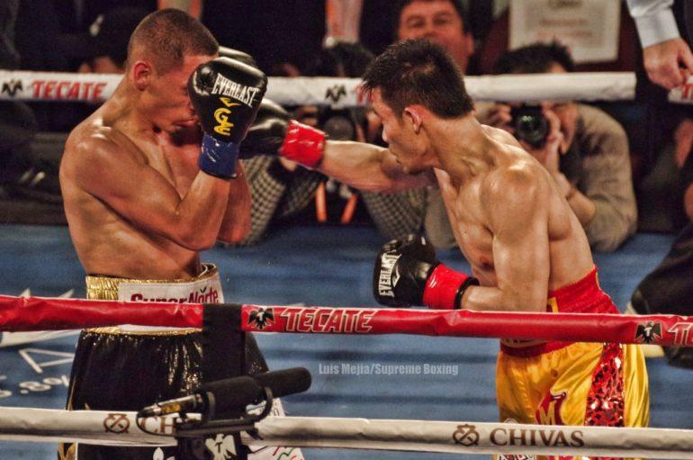 """Sor Rungvisai retains WBC title over """"Gallo"""" Estrada in a War at the Forum"""