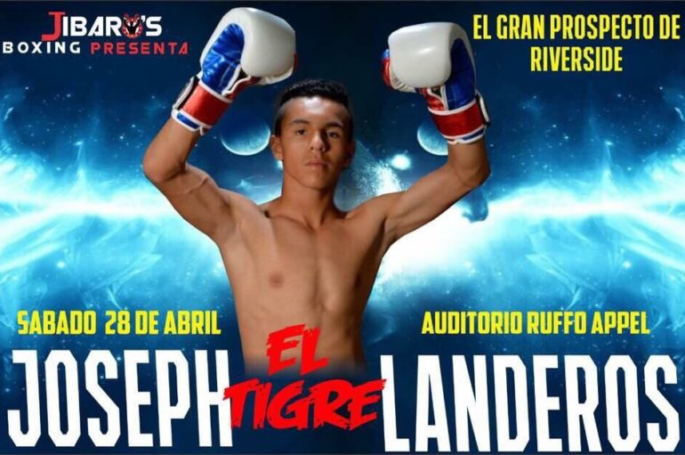 Joseph Landeros Look to Shine in Rosarito, Mexico