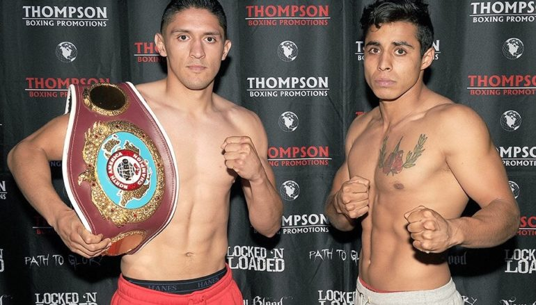 Giovani Santillan Set to Defend His NABO Title Friday Night