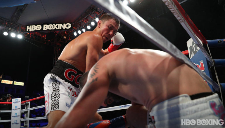 Cinco De Golovkin: Vanes Martirosyan is stopped by middleweight champion within six minutes