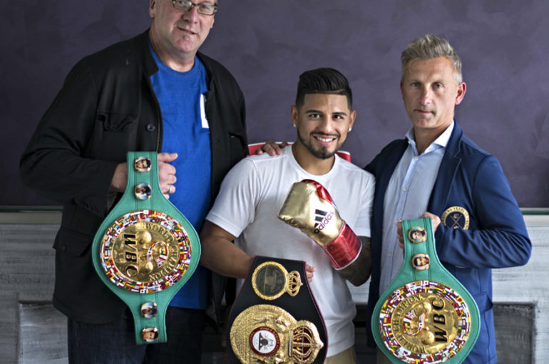 BOXING'S WBA WORLD FEATHERWEIGHT CHAMPION ABNER MARES SIGNS WITH ADIDAS BOXING