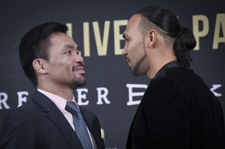 "Can Keith Thurman Tarnish The Legacy of Manny ""Pacman"" Pacquiao?"