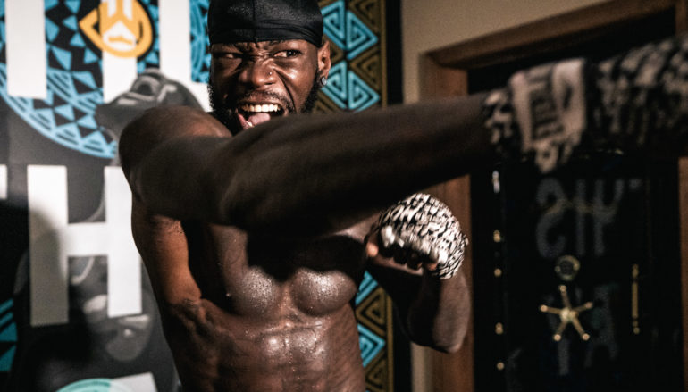 DEONTAY WILDER TRAINING CAMP QUOTES & PHOTOS