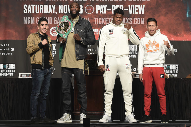 DEONTAY WILDER VS. LUIS ORTIZ II & LEO SANTA CRUZ VS. MIGUEL FLORES FINAL PRESS CONFERENCE QUOTES & PHOTOS