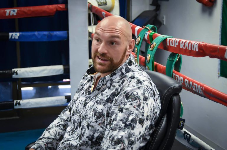 "EXCLUSIVE ""Tyson Fury Interview for WBC"""