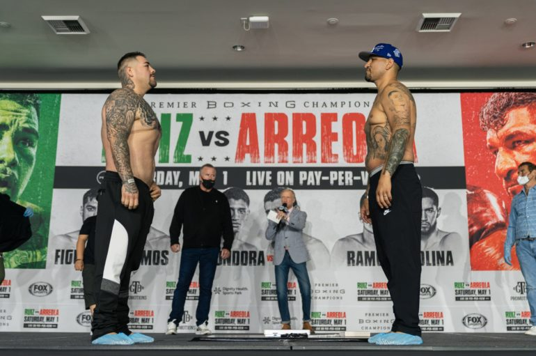 Andy Ruiz looks for Redemption as he takes on Chris Arreola