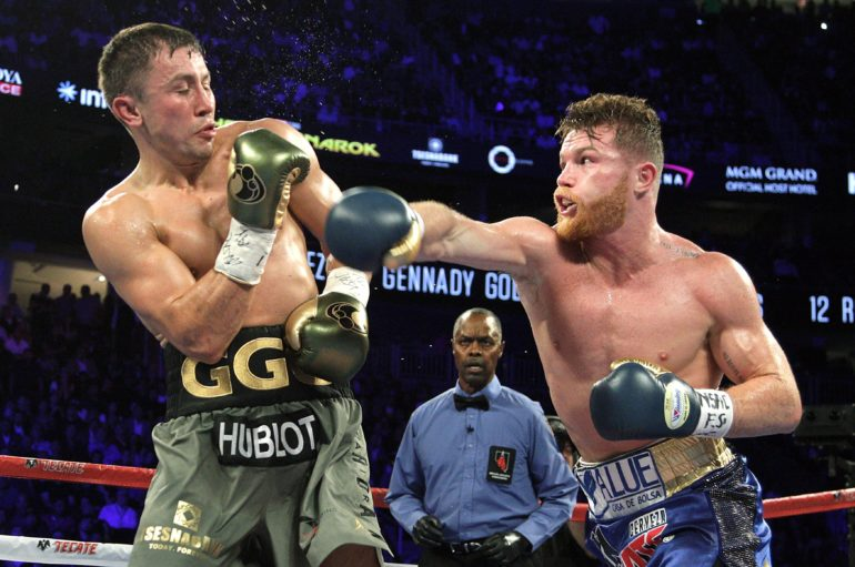 First announced by The Rock, Canelo-GGG rematch set for May