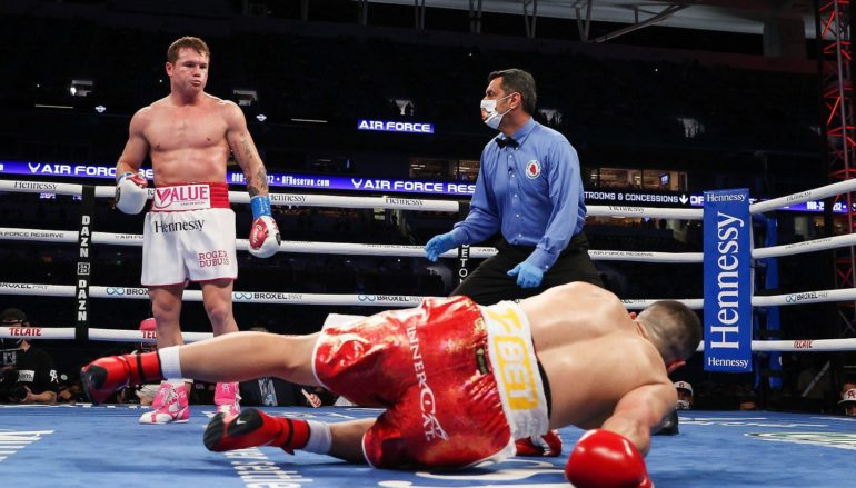 Canelo Destroys Yildirim, Vows to Become Undisputed Super Middleweight Champion.  Next Up Billy Joe Saunders