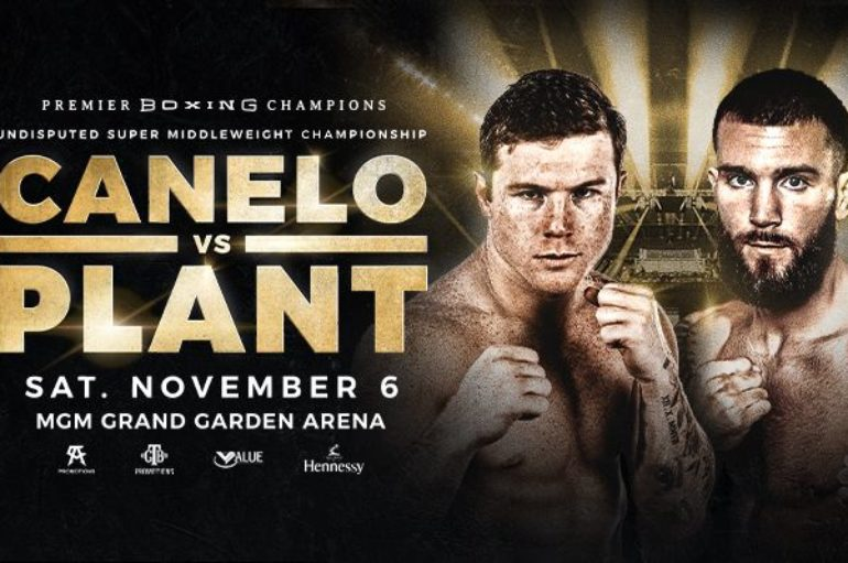 """Saul """"Canelo"""" Alvarez and Caleb """"Sweethands"""" Plant Fight for Legacy, History and Super Middleweight Supremacy"""